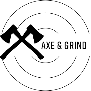 Axe and Grind logo.